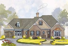 Home Plan - Colonial Exterior - Front Elevation Plan #429-441