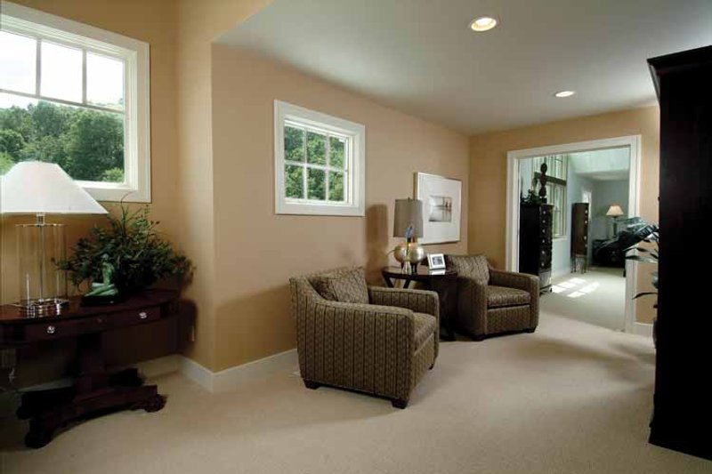 Craftsman Interior - Master Bedroom Plan #928-18 - Houseplans.com