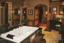 Colonial Interior - Bathroom Plan #119-392