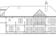 Craftsman Style House Plan - 4 Beds 3.5 Baths 2251 Sq/Ft Plan #119-425 Exterior - Rear Elevation