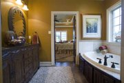 European Style House Plan - 4 Beds 2.5 Baths 2889 Sq/Ft Plan #17-2307