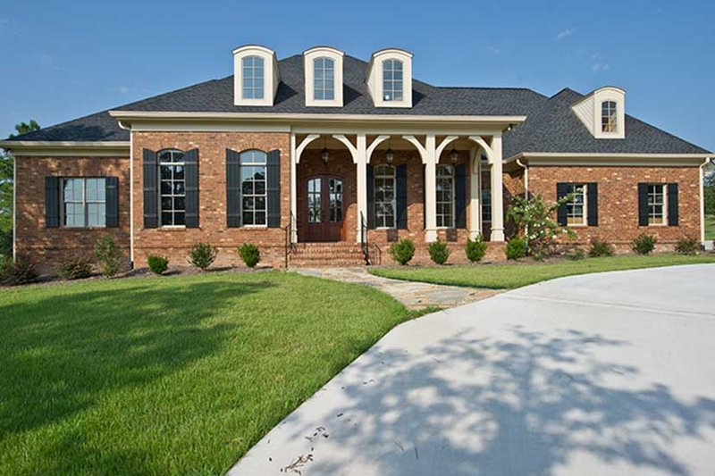Country Exterior - Front Elevation Plan #927-409 - Houseplans.com