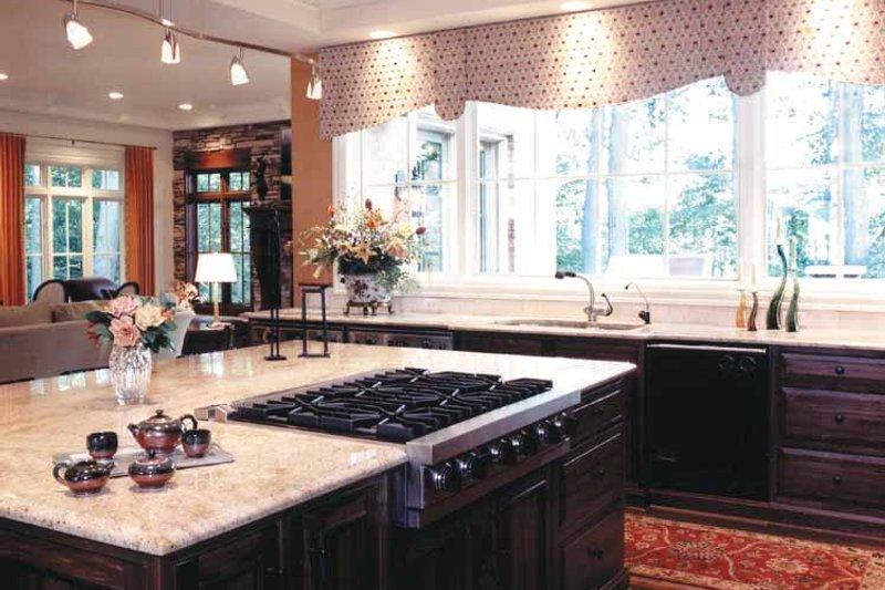 Mediterranean Interior - Kitchen Plan #46-720 - Houseplans.com