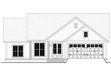 Architectural House Design - Farmhouse Exterior - Front Elevation Plan #430-217