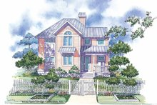 Dream House Plan - Victorian Exterior - Front Elevation Plan #930-66