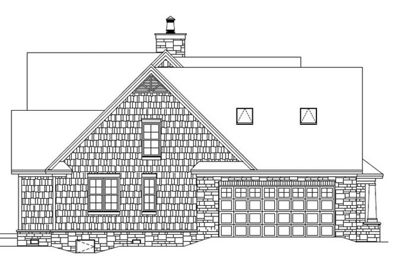 European Exterior - Other Elevation Plan #929-907 - Houseplans.com