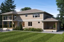 Contemporary Exterior - Rear Elevation Plan #1066-80