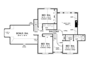 Farmhouse Style House Plan - 4 Beds 3.5 Baths 3626 Sq/Ft Plan #929-1000 Floor Plan - Upper Floor Plan