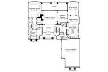 Mediterranean Floor Plan - Main Floor Plan Plan #453-488