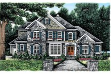Country Exterior - Front Elevation Plan #927-855