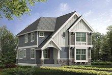 Home Plan - Craftsman Exterior - Front Elevation Plan #132-386