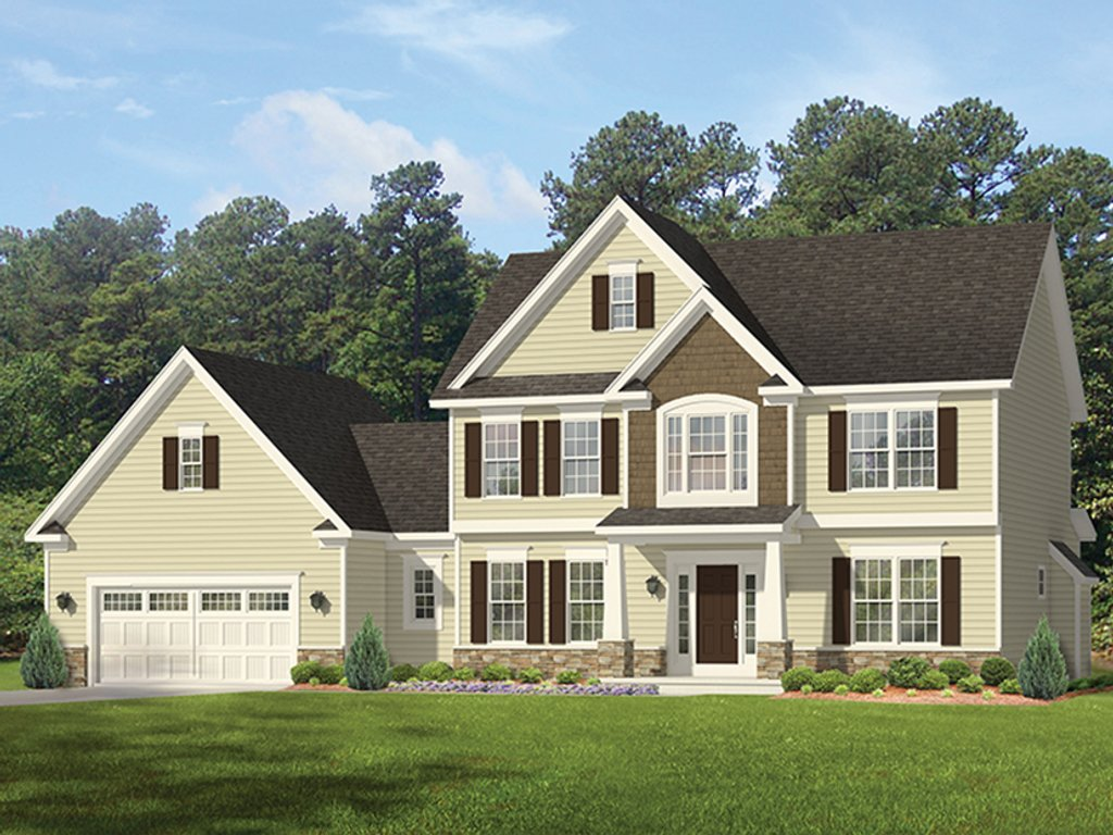 colonial house plan colonial style house plan 4 beds 2 5 baths 2700 sq ft plan 1010 160 floorplans com 5671