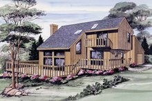 Contemporary Exterior - Front Elevation Plan #314-212
