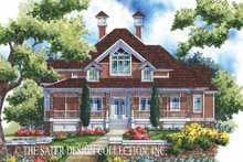 House Plan Design - Victorian Exterior - Front Elevation Plan #930-171