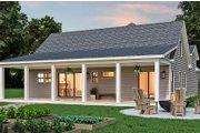 Farmhouse Style House Plan - 3 Beds 2 Baths 1637 Sq/Ft Plan #119-437