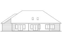 Home Plan - Rear Elevation