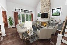 Dream House Plan - Farmhouse Interior - Family Room Plan #48-982