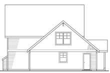 Home Plan - Craftsman Exterior - Rear Elevation Plan #124-204