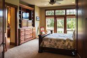 Ranch Style House Plan - 3 Beds 3 Baths 2910 Sq/Ft Plan #48-712 Interior - Master Bedroom