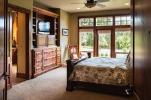 Ranch Interior - Master Bedroom Plan #48-712