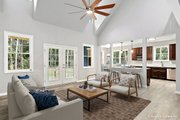 Country Style House Plan - 3 Beds 2.5 Baths 1859 Sq/Ft Plan #929-52