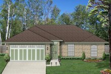 Dream House Plan - Traditional Exterior - Front Elevation Plan #84-537
