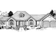 Ranch Style House Plan - 4 Beds 2.5 Baths 1850 Sq/Ft Plan #3-153 Exterior - Other Elevation