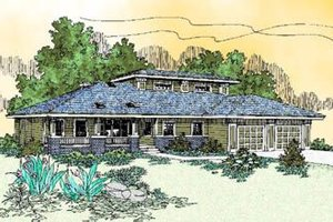 Traditional Exterior - Front Elevation Plan #60-229