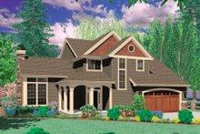 Home Plan - Craftsman Exterior - Front Elevation Plan #48-391