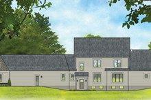 House Plan Design - Traditional Exterior - Rear Elevation Plan #1010-188