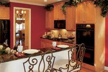 Country Interior - Kitchen Plan #927-959