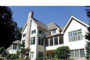 European Style House Plan - 4 Beds 5.5 Baths 5157 Sq/Ft Plan #928-65 Exterior - Rear Elevation