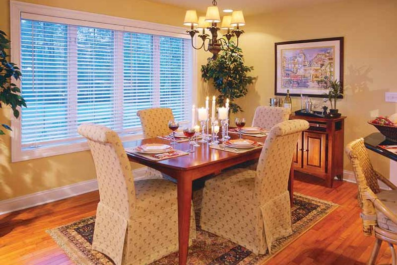 Traditional Interior - Dining Room Plan #930-156 - Houseplans.com