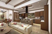 Cottage Interior - Kitchen Plan #406-9654