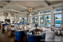 Architectural House Design - Contemporary Interior - Family Room Plan #930-513
