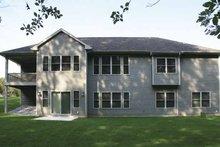 House Design - Craftsman Exterior - Rear Elevation Plan #928-135