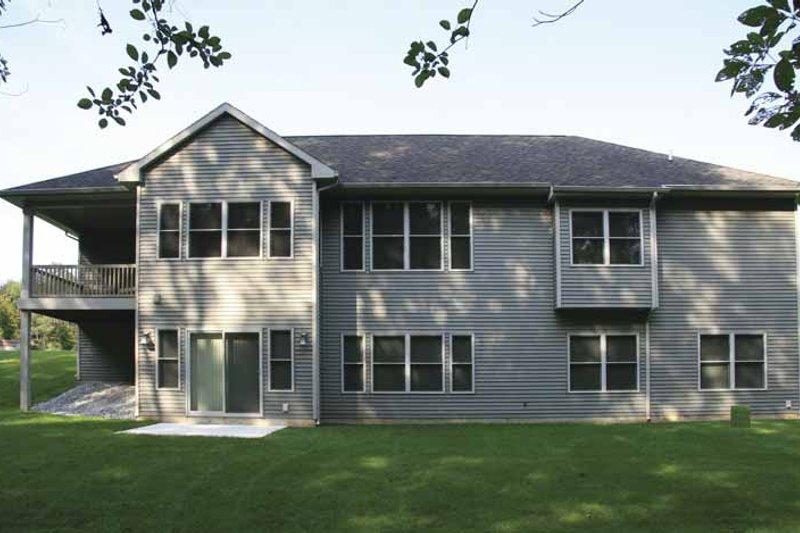 Craftsman Exterior - Rear Elevation Plan #928-135 - Houseplans.com