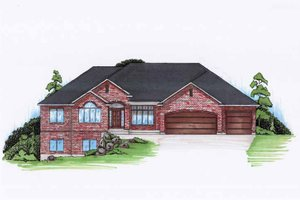 Architectural House Design - Traditional Exterior - Front Elevation Plan #945-117