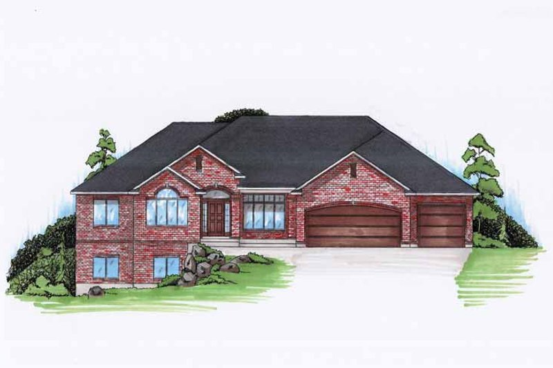 Traditional Exterior - Front Elevation Plan #945-117