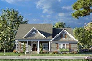 House Blueprint - Farmhouse Exterior - Front Elevation Plan #923-190
