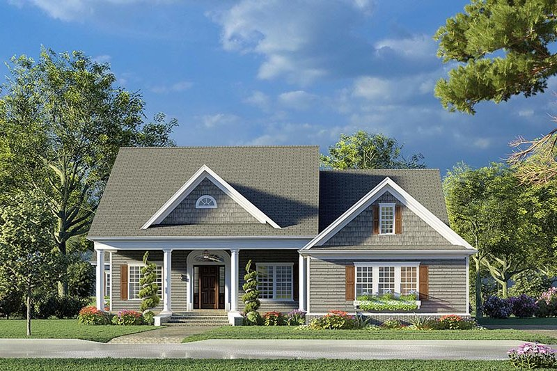 House Plan Design - Farmhouse Exterior - Front Elevation Plan #923-190