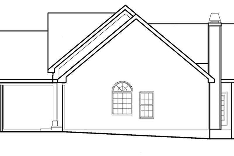 Country Exterior - Other Elevation Plan #927-395 - Houseplans.com