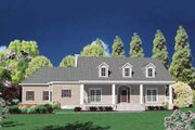 Traditional Style House Plan - 4 Beds 5 Baths 3985 Sq/Ft Plan #36-244 Exterior - Front Elevation