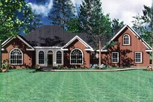 Contemporary Exterior - Front Elevation Plan #21-402