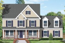 House Plan Design - Country Exterior - Front Elevation Plan #1053-23