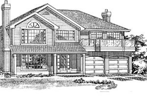 Traditional Exterior - Front Elevation Plan #47-244