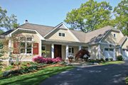 Craftsman Style House Plan - 4 Beds 3.5 Baths 4124 Sq/Ft Plan #928-223 Exterior - Front Elevation