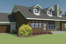 House Plan Design - Craftsman Exterior - Rear Elevation Plan #1063-1