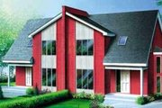Modern Style House Plan - 3 Beds 1.5 Baths 2998 Sq/Ft Plan #25-321 Exterior - Front Elevation