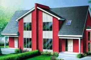 Modern Exterior - Front Elevation Plan #25-321